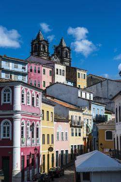 Colonial Architecture in the Pelourinho by Michael Runkel