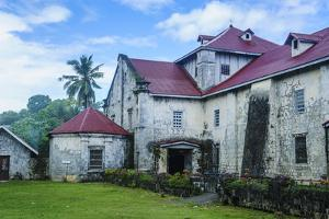 Colonial Spanish Church of Our Lady of the Immaculate Conception, Baclayon Bohol, Philippines by Michael Runkel