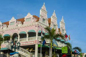 Downtown Oranjestad, Capital of Aruba, ABC Islands, Netherlands Antilles, Caribbean by Michael Runkel