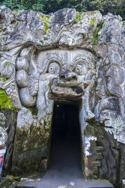 Entrance Gate to the Goa Gajah Temple Complex, Bali, Indonesia, Southeast Asia, Asia by Michael Runkel