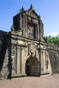 Entrance to the Old Fort Santiago, Intramuros, Manila, Luzon, Philippines, Southeast Asia, Asia by Michael Runkel
