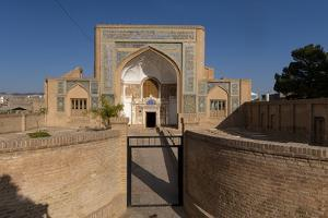 Facade of Shrine of Mawlana Abdur Rahman Jami, Herat, Afghanistan by Michael Runkel