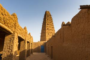 Grand Mosque, Agadez, Niger by Michael Runkel