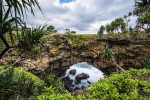 Ha'Ateiho, Big Rock Arch in Tongatapu, Tonga, South Pacific, Pacific by Michael Runkel