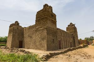 Hausa style architecture Mosque in Yaama, Niger by Michael Runkel