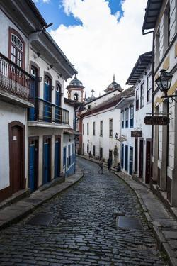 Historical Houses in the Old Mining Town of Ouro Preto by Michael Runkel