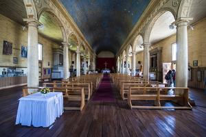 Iglesia San Carlos De Chonchi, UNESCO World Heritage Site, Chonchi, Chiloe, Chile, South America by Michael Runkel