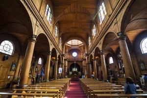 Iglesia San Francisco De Castro, UNESCO World Heritage Site, Castro, Chiloe, Chile, South America by Michael Runkel
