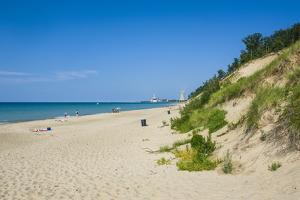 Indiana Sand Dunes, Indiana, United States of America, North America by Michael Runkel