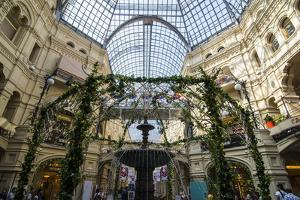 Inside Gum, the Largest Department Store in Moscow, Russia, Europe by Michael Runkel