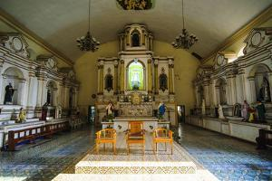 Interior of the Church of Santa Maria, Ilocos Norte, Northern Luzon, Philippines by Michael Runkel