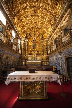 Interior of the Saint Francisco Church in the Pelourinho by Michael Runkel