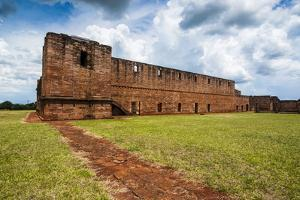 Jesuit Mission of Jesus De Tavarangue, UNESCO World Heritage Site, Paraguay, South America by Michael Runkel
