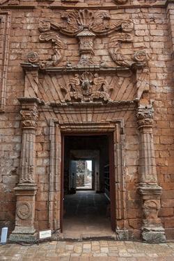 Jesuit Mission of La Santisima Trinidad, UNESCO World Heritage Site, Paraguay, South America by Michael Runkel