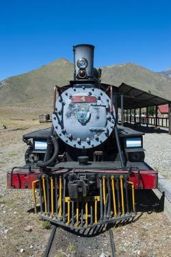 La Trochita, the Old Patagonian Express Between Esquel and El Maiten in Chubut Province, Patagonia by Michael Runkel