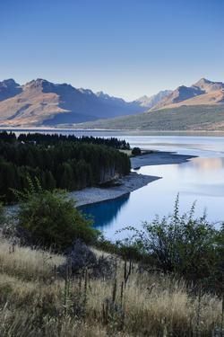 Lake Pukaki, Mount Cook National Park, South Island, New Zealand, Pacific by Michael Runkel