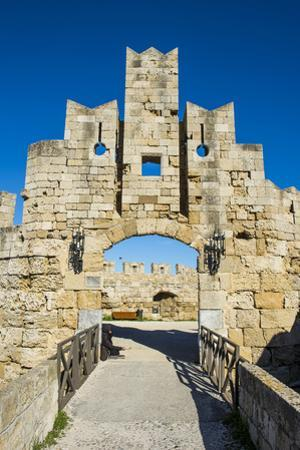 Liberty Gate, the Medieval Old Town of the City of Rhodes, Rhodes