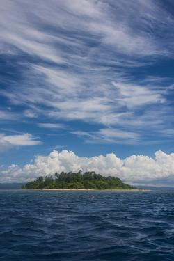 Little island off the coast of Rabaul, East New Britain, Papua New Guinea, Pacific by Michael Runkel
