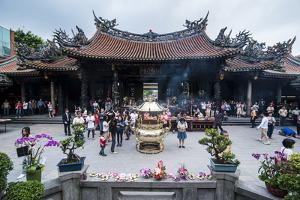 Longshan Temple, Taipei, Taiwan, Asia by Michael Runkel
