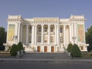 Magnificent Opera, Dushanbe, Tajikistan, Central Asia by Michael Runkel