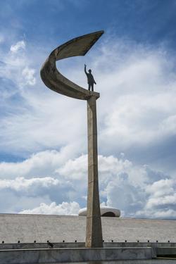 Memorial Jk for Juscelino Kubitschek, Brasilia, Brazil, South America by Michael Runkel