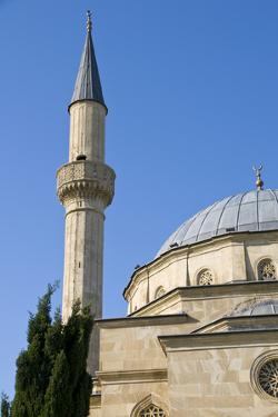 Mosque with Minarets, Baku, Azerbaijan by Michael Runkel