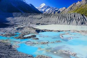 Mount Cook National Park, UNESCO World Heritage Site, South Island, New Zealand, Pacific by Michael Runkel