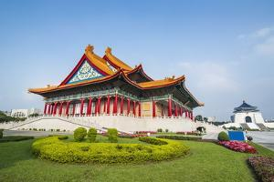 National Concert Hall on the Grounds of the Chiang Kai-Shek Memorial Hall, Taipeh, Taiwan by Michael Runkel