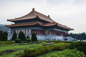 National Theatre on the Grounds of the Chiang Kai-Shek Memorial Hall, Taipeh, Taiwan by Michael Runkel