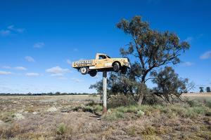 Old Truck on a Huge Pole by Michael Runkel