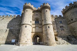 Palace of the Grand Master, the Medieval Old Town, City of Rhodes by Michael Runkel