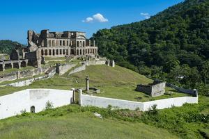Palace Sans Souci, UNESCO World Heritage Site, Haiti, Caribbean, Central America by Michael Runkel