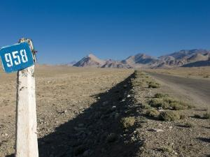 Pamir Highway, the Pamirs, Tajikistan, Central Asia by Michael Runkel