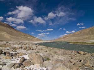 Pamir River, Tajikistan, Central Asia by Michael Runkel