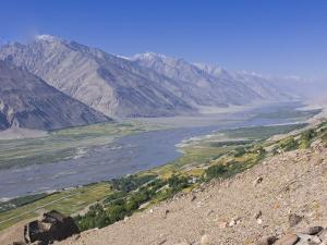 Pamir River, Wakhan Valley, the Pamirs, Tajikistan, Central Asia by Michael Runkel