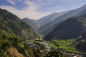 Rice Terraces from Bontoc to Banaue, Luzon, Philippines by Michael Runkel