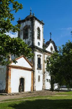 Santa Rita Church in Paraty, South of Rio De Janeiro, Brazil, South America by Michael Runkel