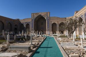 Shrine of Khwaja Abd Allah, Herat, Afghanistan by Michael Runkel