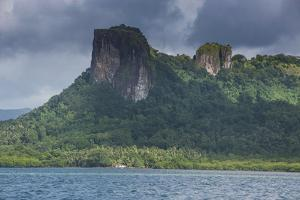Sokehs Rock, Pohnpei (Ponape), Federated States of Micronesia by Michael Runkel