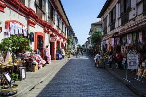 Spanish Colonial Architecture, Vigan, Northern Luzon, Philippines by Michael Runkel