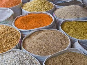 Spices For Sale, Addis Ababa, Ethiopia, Africa by Michael Runkel