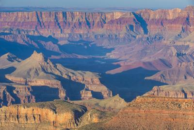 Sunset over the South Rim of the Grand Canyonarizona, United States of America, North America by Michael Runkel