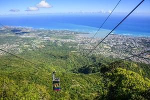 Teleforico, the Only Cable Car in the Caribbean, Puerto Plata by Michael Runkel