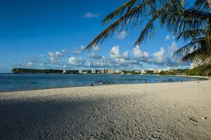 The Bay of Tamuning with its Hotel Resorts in Guam, Us Territory, Central Pacific, Pacific by Michael Runkel