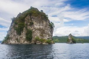 The Beehives (Dawapia Rocks) in Simpson Harbour, Rabaul, East New Britain, Papua New Guinea, Pacifi by Michael Runkel
