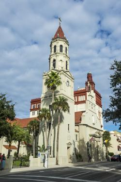 The Cathedral Basilica of St. Augustine, Florida by Michael Runkel