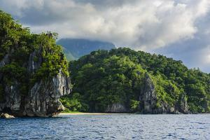 The Cliffs around Puerto Princessa Underground River, Palawan, Philippines by Michael Runkel