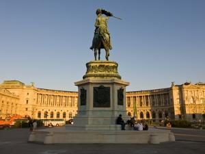 The Hofburg Palace on the Heldenplatz, Vienna, Austria, Europe by Michael Runkel