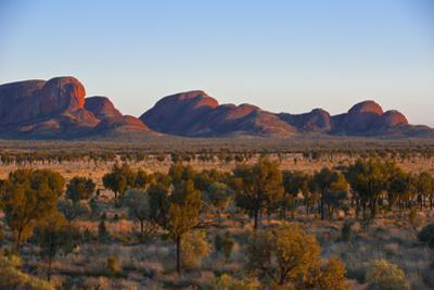 The Olgas (Kata Tjuta), Uluru-Kata Tjuta Nat'l Park, UNESCO Site, Northern Territory, Australia by Michael Runkel