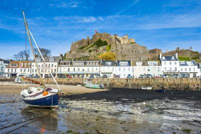 The Town of Mont Orgueil and its Castle, Jersey, Channel Islands, United Kingdom by Michael Runkel